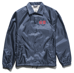 NEEDLE COACH JACKET - NAVY - hi-res | Etnies