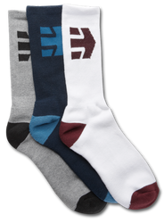 DIRECT 3 PACK SOCKS - ASSORTED - hi-res | Etnies