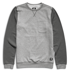 Point A Crew - GREY/LIGHT GREY - hi-res | Etnies