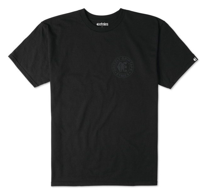 GRIZZLY CORP TEE - BLACK - hi-res | Etnies