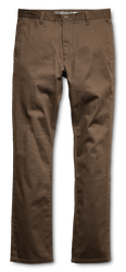 E2 Straight Chino - BROWN - hi-res