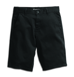 E1 Chino Short (Slim) - BLACK - hi-res