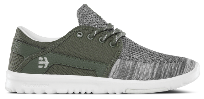 SCOUT YARN BOMB WOMENS COCO HO - OLIVE/WHITE - hi-res | Etnies