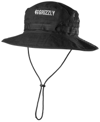 GRIZZLY BOONIE HAT - BLACK - hi-res