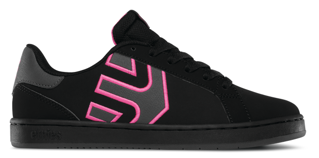 Fader LS Womens - BLACK/DARK GREY - hi-res | Etnies