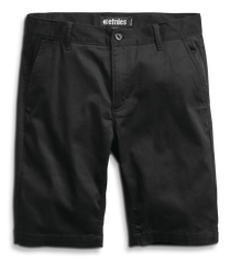 JAMESON CHINO SHORT - BLACK - hi-res | Etnies