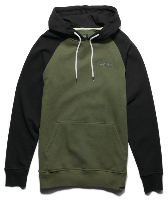 CORP BOX PULLOVER - BLACK/OLIVE - hi-res | Etnies
