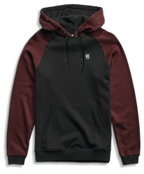 E-Base Pull Over - BLACK/RED - hi-res | Etnies