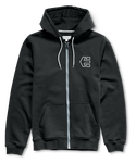 Hook-Ups Zip Fleece - BLACK - hi-res | Etnies