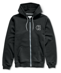Hook-Ups Zip Fleece - BLACK - hi-res