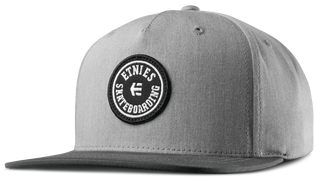 SCOUT SNAPBACK - LIGHT GREY/DARK GREY - hi-res | Etnies