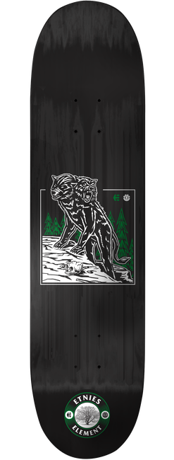 Etnies x Element Skateboard Deck - BLACK - hi-res | Etnies