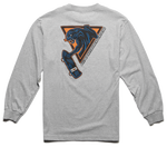 RETRO PANTHER L/S - GREY/HEATHER - hi-res | Etnies