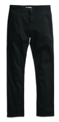 E1 Slim Chino - BLACK - hi-res