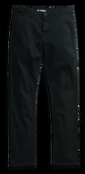 E1 Slim Chino - BLACK - hi-res | Etnies
