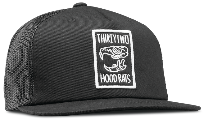 HOOD RATS TRUCKER HAT 2015-16 - BLACK - hi-res