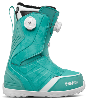 LASHED DOUBLE BOA WOMEN'S - TURQUOISE - hi-res