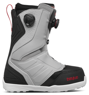 LASHED DOUBLE BOA - GREY/BLACK/RED - hi-res