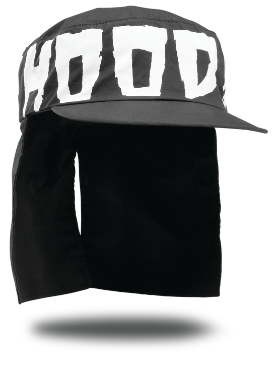 HOOD RATS PACK PAINTERS CAP - BLACK - hi-res