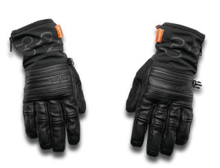 THROTTLE GLOVE - BLACK - hi-res