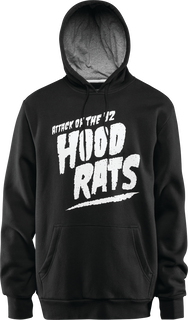 ATTACK OF THE HOOD RATS - BLACK - hi-res