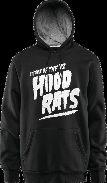 ATTACK OF THE HOOD RATS - BLACK - hi-res