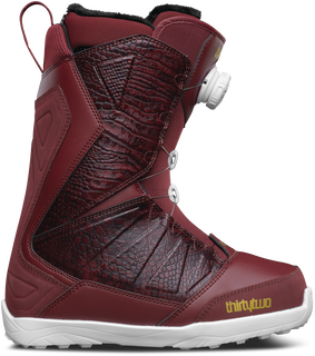 LASHED BOA WOMEN'S - BURGUNDY - hi-res
