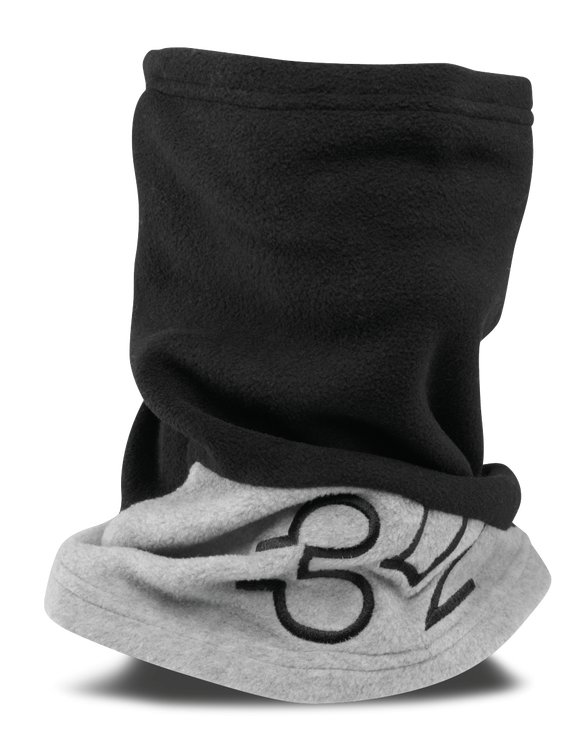 HEIST POLAR FLEECE NECK GAITER - BLACK - hi-res