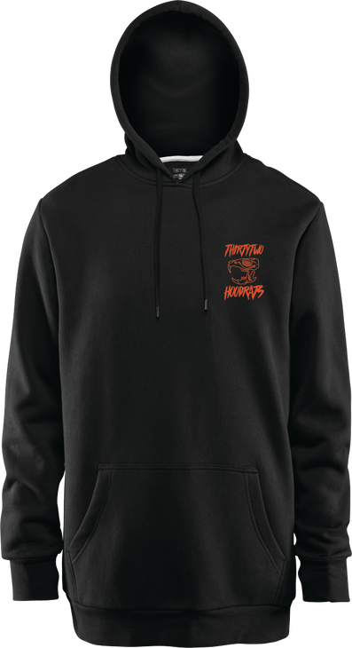 SHRED TILL DEATH HOOD RATS PULLOVER - BLACK - hi-res