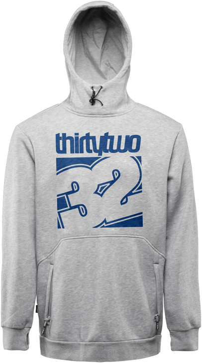 STAMPED PULLOVER - GREY/HEATHER - hi-res
