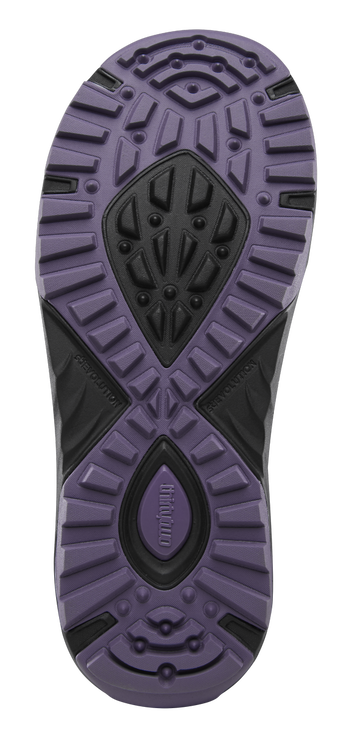 BINARY BOA WOMEN'S - BLACK/PURPLE - hi-res