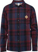 JAYCOBS INSULATED FLANNEL - NAVY - hi-res