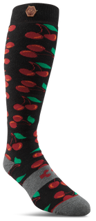 WOMENS CHERRY BOMB - BLACK - hi-res