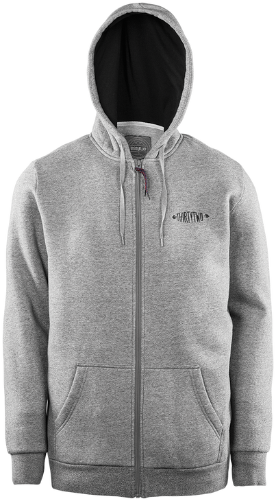 QUARTZ ZIP 2015-16 - GREY/HEATHER - hi-res