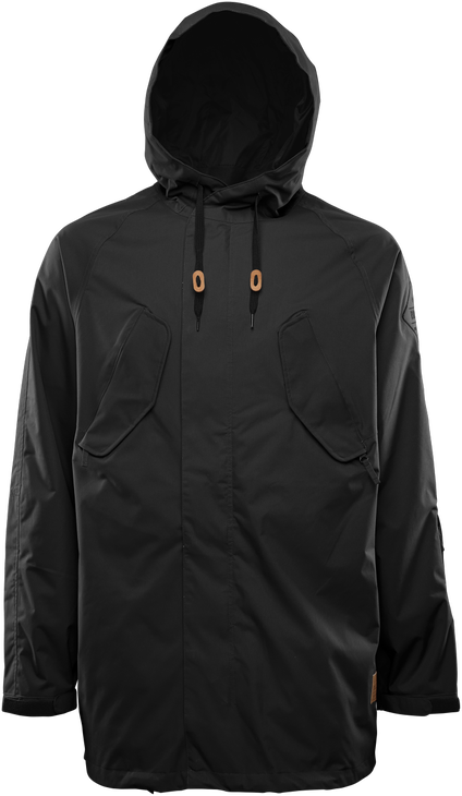DEEP CREEK PARKA - BLACK/BLACK - hi-res