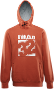 STAMPED PULLOVER - BURNT ORANGE - hi-res