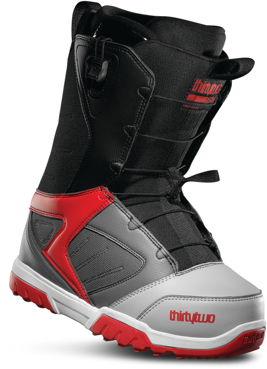 GROOMER FT - GREY/BLACK/RED - hi-res