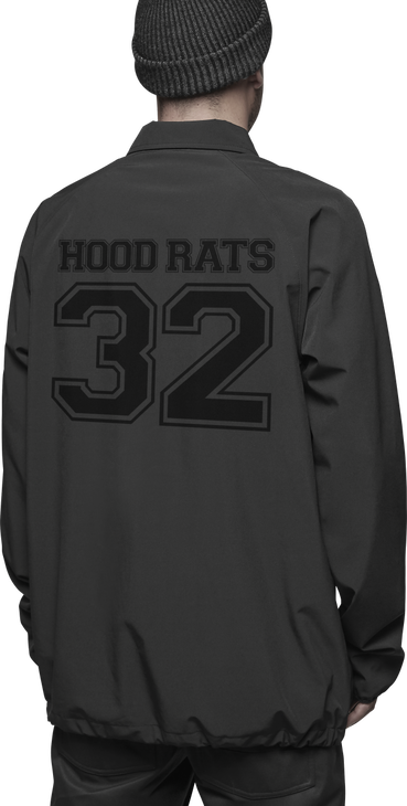 HOOD RATS COACHES JACKET - BLACK - hi-res