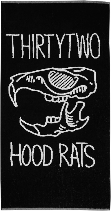 HOOD RATS TOWEL 2015-16 - BLACK - hi-res