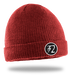 RATTY TWO HOOD RATS BEANIE - RED - hi-res