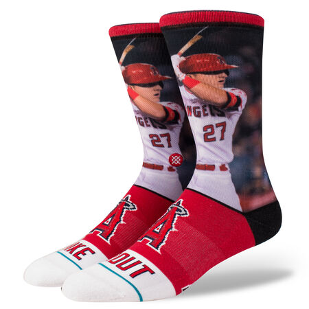 MIKE TROUT   RED   L