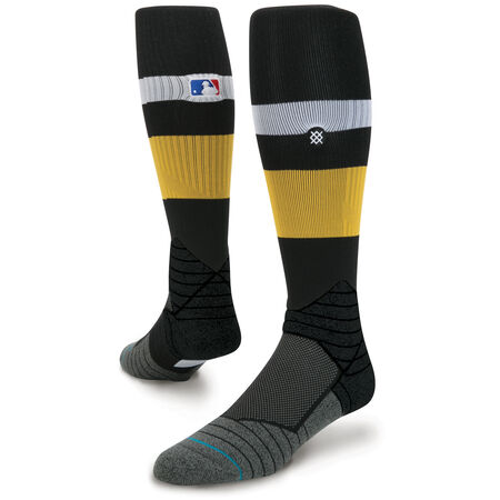 DIAMOND PRO STRIPE OTC | BLACK/YELLOW | L