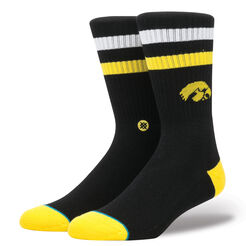 IOWA HAWKEYES LOGO | BLACK | L