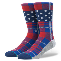 WADE POLKA PLAID | MULTI | L
