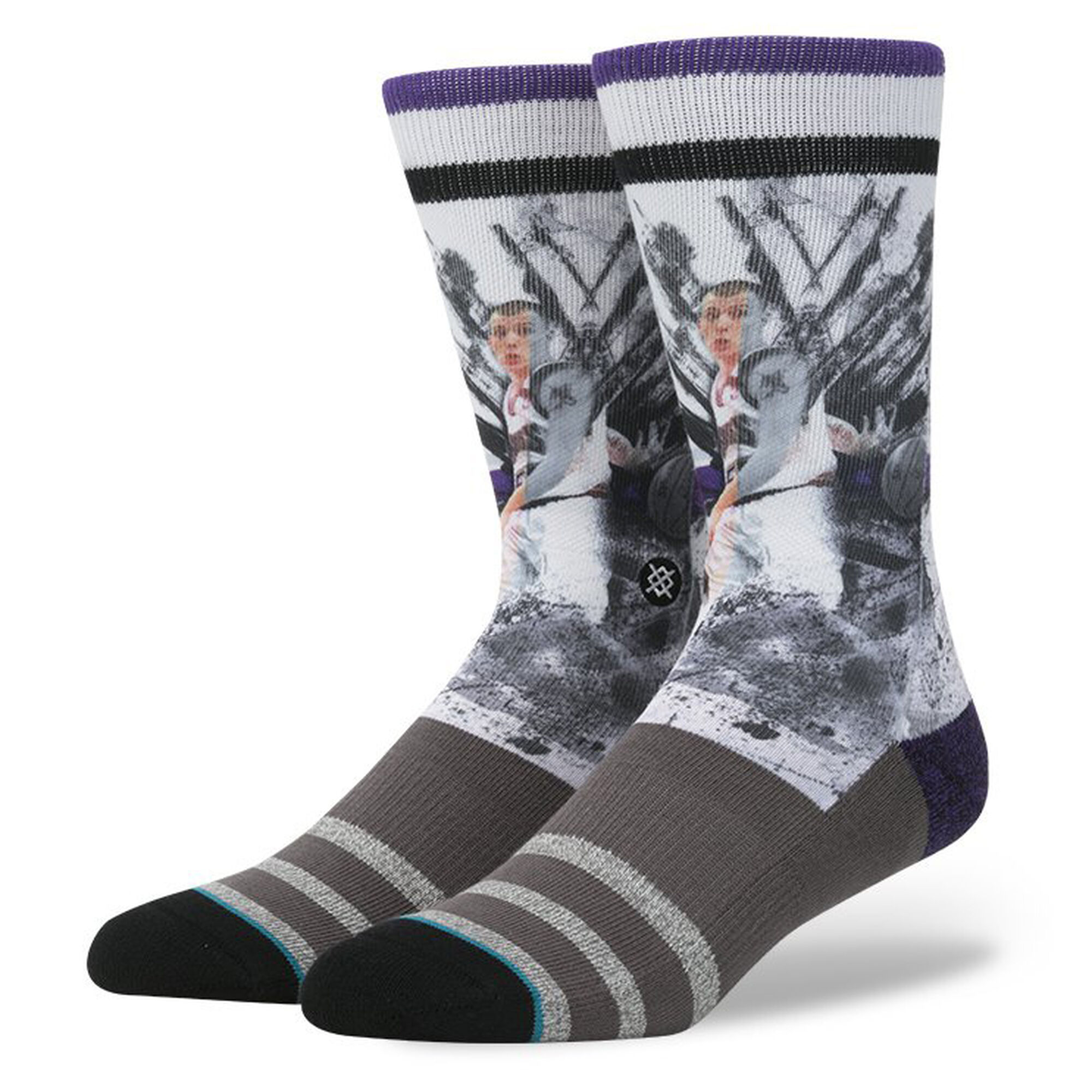 Jason Williams Ink Splatter - Mens NBA Legends Socks | Stance