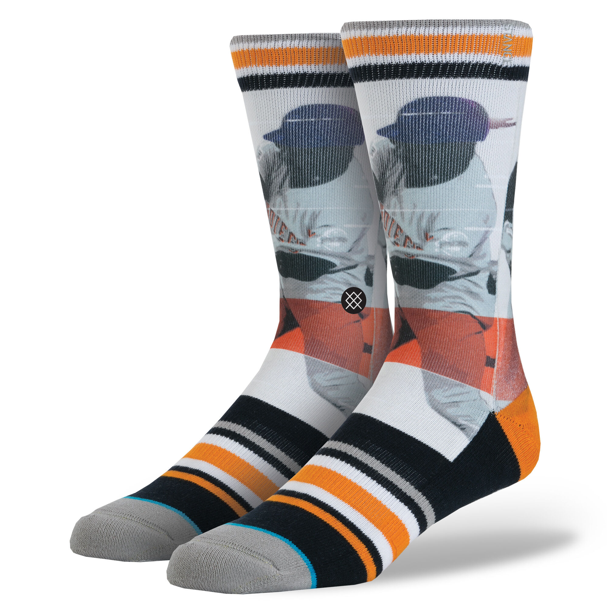 Padre Mens Mlb Legends Socks Stance