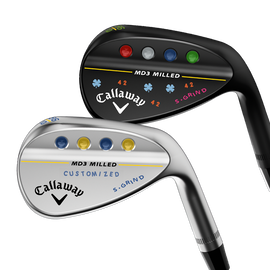 MD3 Milled Custom Wedges