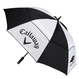 "60"" Manual Double Canopy Logo Umbrella"