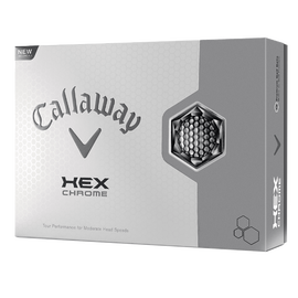 Pelota de golf HEX Chrome
