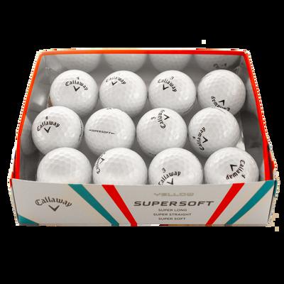 Supersoft Loose Dozen Golf Balls